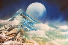 暁の山 Dawning Mountain